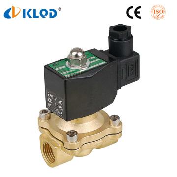 Klqd Brand 2/2 Way Direct Acting 220V Water Solenoid Valve