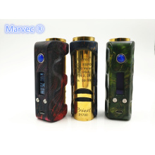 Marvec DNA75W Chipset Kanthal Wire Vape Box MOD 510 Meccanico a tensione variabile Alimentazione Vape MOD Electronic Cigarette 18650Battery