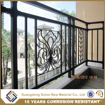 Kein Schweißen montiert Aluminium Balkon Geländer