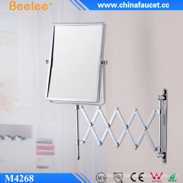 Hotel Luxury Metal Hinged Decorative Wall Mounted Mirror