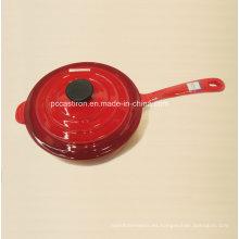 3qt esmalte utensilios de cocina de hierro fundido Fabricante de China