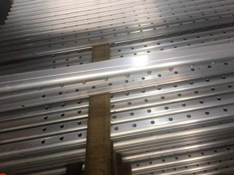 Aluminum extrusion led strips for big projects