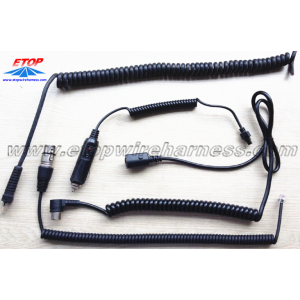 Flexibel Coiling Cable Wire Assembly
