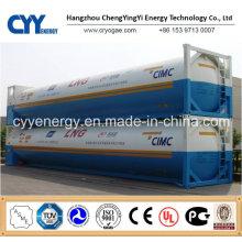 Neuester kryogener LNG Lox Lin Lar Lco2 Tankcontainer mit GB ASME