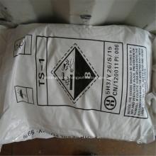 Copos de soda cáustica 99% para la industria textil