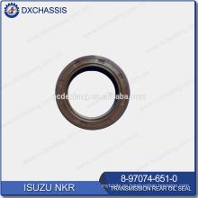 Sello de aceite trasero de transmisión NHR / NKR genuino 8-97074-651-0