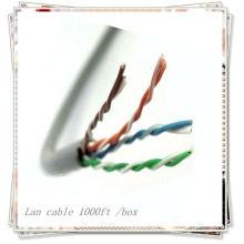 NUEVO PREMIUM Cable LAN de alta velocidad cat5e 1000ft por caja