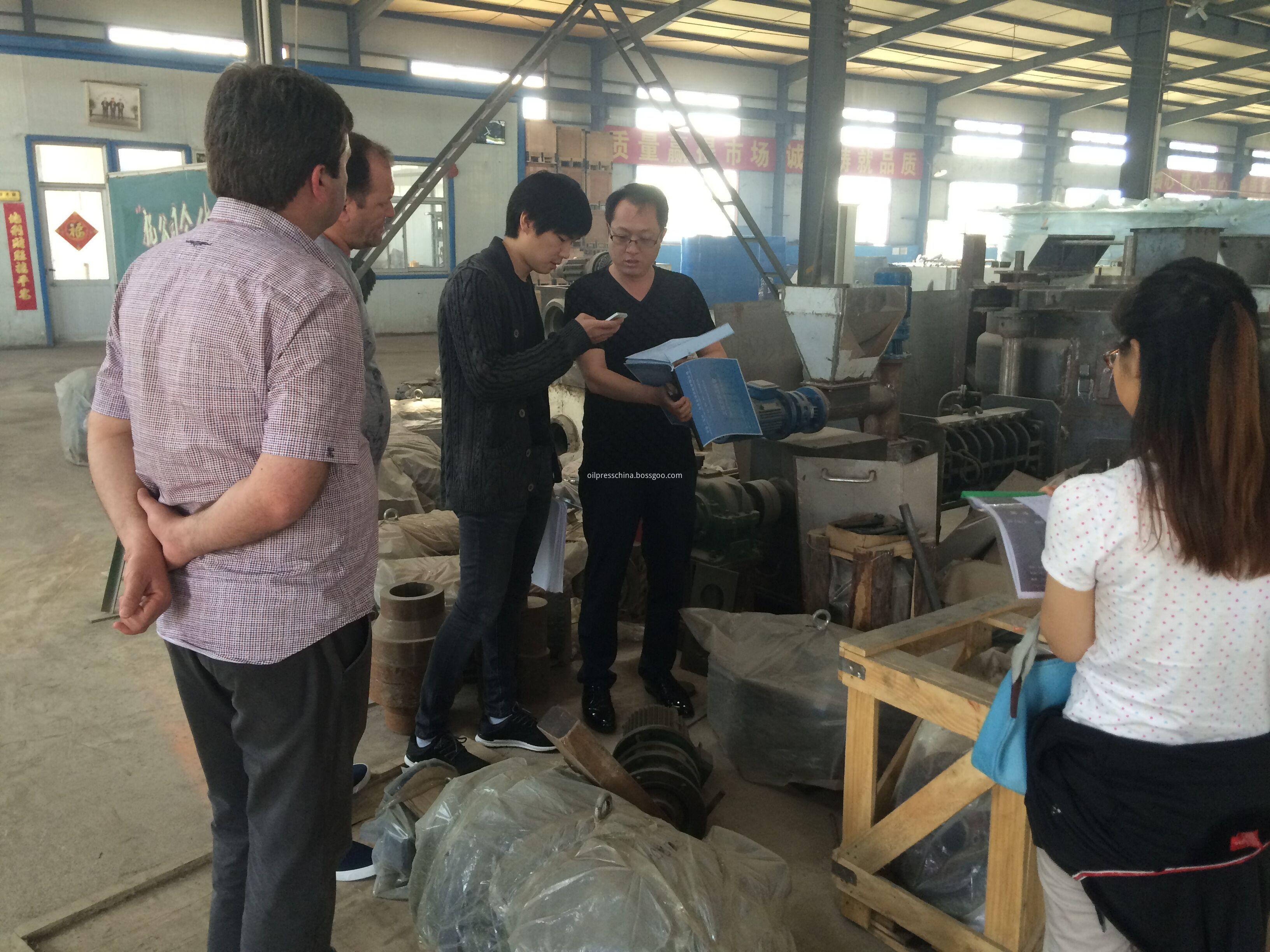 visiting factory