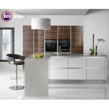 Móveis de cozinha moderna com faixas de borda (brilhante)
