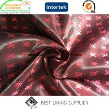 100 Poliester Men′s Suit Satin Jacquard Lining Fabric China Manufacturer
