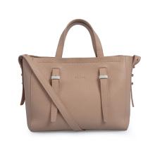 Medium Wide Leather Strap Casual Retro Italian Bag