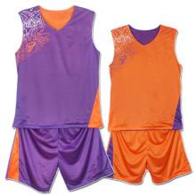 2014 최신 사용자 지정 농구 유니폼 도매 농구 저렴 한 농구 유니폼을 착용