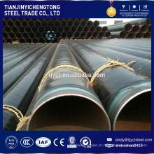 revestimento de verniz tubo de revestimento de óleo com grande diâmetro