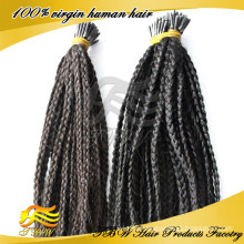 Unprocessed Virin Hair 100% Cheap Human Hair i Tip Africa Braid Hair