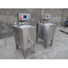 Chauffage électrique Réservoir de pasteurisateur de lait en acier inoxydable