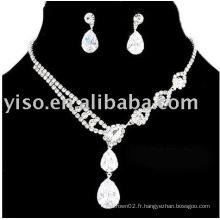 Bijoux de mariée, bijoux en strass, bijoux de mariage