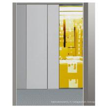 Ascenseur de marchandises avec opérateur de porte VVVF