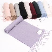 100% cachemira ligero sangrado nuevo estilo bufanda