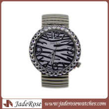 Zebra Pattern Fashion Quartz Wrist Watch for Ladies