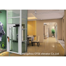 Sightseeing elevator/ glass home elevator/ small elevators for homes/ mini lift