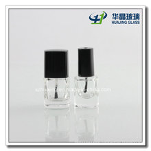 8ml Square Glass Gel Nail Polish Oil Bottles with Brushes