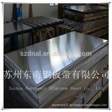 Aluminiumblech Preis1070 H14 halb hart elektrisch bezogen