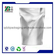 Custom Printed Plain Aluminum Foil Zip Lock Bag