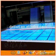 Освещение фальшпол,портативный этап стеклянная платформа для торговой выставки