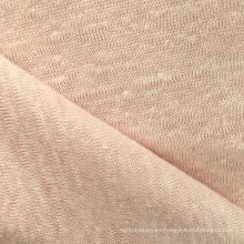 Jersey de punto de lino para la camiseta