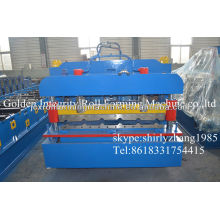 High quality and economical glazed tile roll forming machine