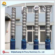 Bomba de água submersível de mina de turbina vertical multiestágio de alta pressão de alta pressão