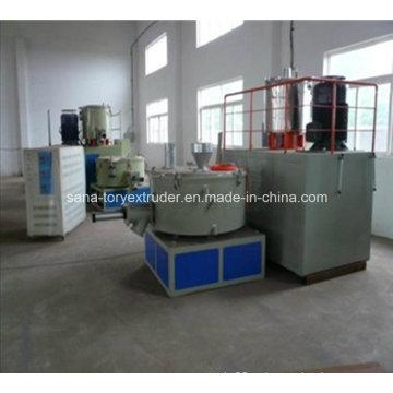 Máquina mezcladora de plástico de alta calidad para línea de extrusión de PVC
