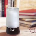 2018 Nouvelle LED Musique MP3 Verre En Céramique 3D Aromathérapie Huile Diffuseur Humidificateur Diffuseur Aroma