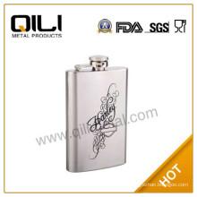 promotional 6oz wholesale best quality hip flask