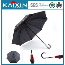 Paraguas de sol grande al aire libre paraguas abierto automático