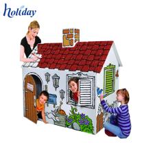 Populäre hochwertige kundengebundene Karton-Schemel-Möbel, Wellpappen-DIY-Möbel