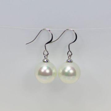 Wholesale Simulated Big Pearl Drop Earrings