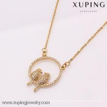 41861-Xuping мода высокое качество и новый дизайн ожерелье