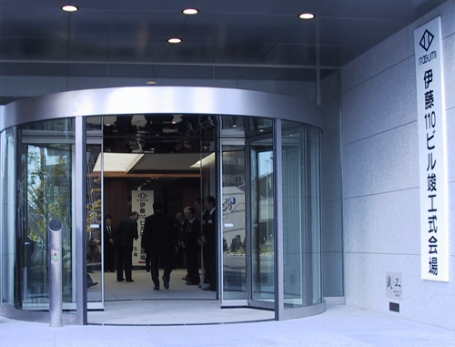 Two-wing Automatic Revolving Doors for Commercial Use