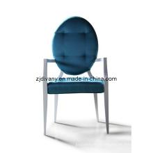 Pós-moderno estilo sala de madeira tecido assento poltrona (LS-303)