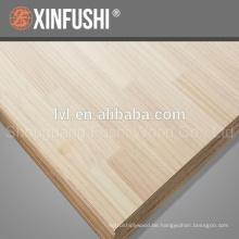 Chile pine finger joint panel für korea markt
