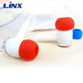 Factory Direct Wholesale Fashion OEM Colorful Wired Earphone