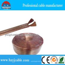 Параллельный кабель громкоговорителя 2 * 3,5 мм2 медный кабель аудиокабеля
