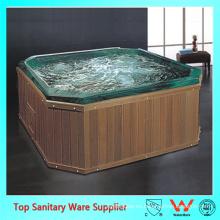 Barril de baño de madera / bañera flexible / duchas y baños