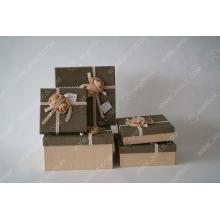Discoid butterfly linen gift box