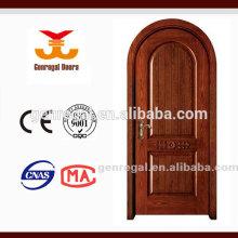 Porte supérieure en arc composite en bois