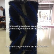 Machine de brosse de rouleau de 4 axes
