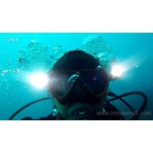 Profesional de la máscara facial snorkel de la luz para el buceo
