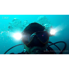 Professional full face snorkel mask light for diving