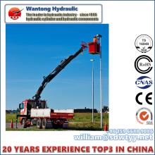 Elevador hidráulico de cilindros para plataformas de trabalho